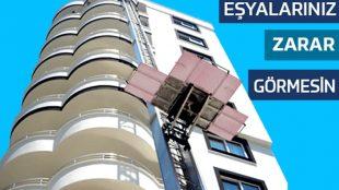 Antalya Evden eve Asansörlü Nakliyat